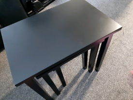 Cleo nest of tables (×3 black)