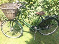Ladies Pashley Classic green bicycle