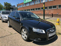 2006 AUDI A4 AVANT 2.0T S LINE ( PART EXCHANGE TO CLEAR ) NO OFFERS