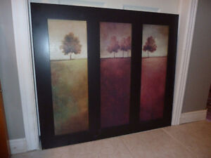 Framed Art Print of Trees