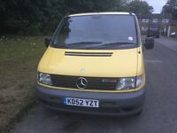 Mercedes Vito 108 Cdi 2003 standard panel van px vehicle clean and mot 2017