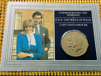 Lady Diana & Prince of Whales Commemorative Coin