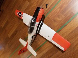 Durafly T-28 Trojan 1100mm V1 (RARE) RC airplane