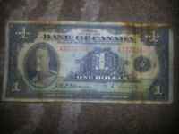 I HAVE 3 OF THE FIRST $ BILLS IN CANADA FROM 1935!!!!!