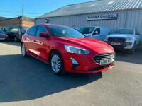 Ford Focus Titanium 1.0L 125PS in Red + Nav, Keyless, Cruise, Climate, BT