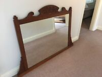 Large Mirror Antique