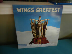 Vinyl Record/LP Wings Greatest Hits Excellent, Poster
