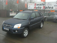 2009 KIA SPORTAGE XS 2.0CRDi 4WD, ONLY 54,227 MILES, FULL SERVICE HISTORY