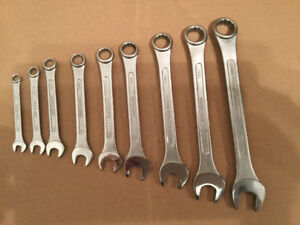 Combination Open/Box End Wrench Set