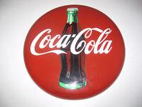 Coca-Cola Coke Button 12 IN