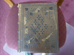 Pulpit Bible - 1870 - Printed by Oxford University Press Kitchener / Waterloo Kitchener Area image 1