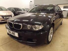 BMW 3 SERIES 318CI SPORT, Black, Manual, Petrol, 2004
