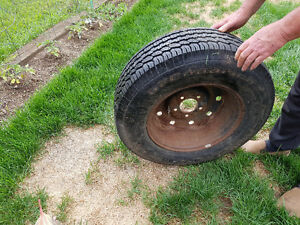Ford truck 5 bolt rim and tire