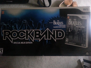 Beatles Rick band for Wii
