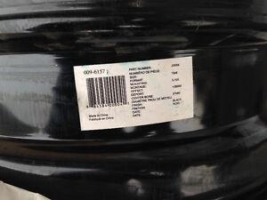 "For Sale 4 - 15"" Steel Rims 5x100 bolt Pattern Oakville / Halton Region Toronto (GTA) image 4"