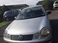 VW 1.4 Polo- TDI Repair or Spares. Three Cylinder