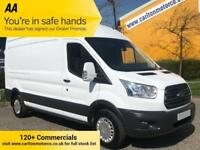 2015/65 Ford Transit 350 TDCi L3 H3 125 TREND [ NO VAT TO PAY ] HI ROOF VAN RWD