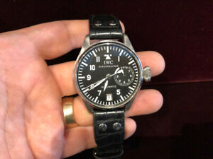IWC BIG PILOT 7 DAY 46MM  AUTOMATIC REF.5002 ( SOLD THANK YOU)..
