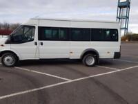 2008 58 PLATE Ford TRANSIT 115 T430 17S RWD MINI BUS 80K MILES