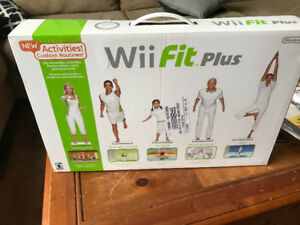 Wii fit plus Brand new in sealed box