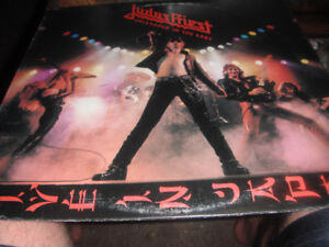 Judas Priest – Unleashed In The East (Live In Japan). LP