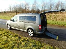 2014 Volkswagen Caddy 1.6 Tdi 7 SEATS ONLY 12K Wheelchair Accessible Disabled
