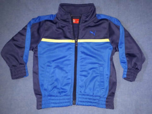 Baby Boy Puma Jacket Size 6/9mts,Like New