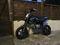 Stomp pit bike supermoto wheels & tyres