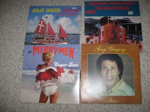 lp records signed Merrymen from Barbados,carnival, commodores,et