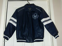 BOYS XL TORONTO MAPLE LEAFS JACKET