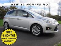 2011 FORD FOCUS C-MAX 1.6 TDCI 115 BHP** TITANIUM** PARK ASSIST ** £30 ROAD TAX