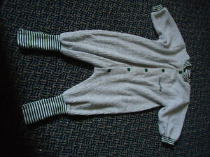 Boys Size 12-18 Months Footed or Unfooted Sleeper
