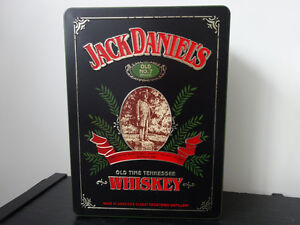 Jack Daniel's (Old No 7 Brand) Tin, full bottle, 2 glasses Cornwall Ontario image 1