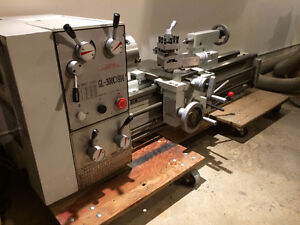 """Lathe: FORCE 12"""" x 36"""" GL-300CX914 (low hours)"""