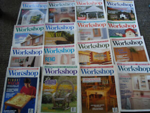 Lot of 27 Workshop Back Issues Magazines$5 for all