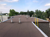 Commerical flat roofing. Residential shingles,