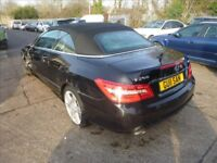 MERCEDES E250 CDi CONVERTIBLE - LS12ZTL - DIRECT FROM INS CO