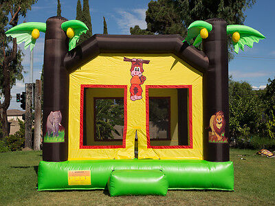 NEW Commercial Grade Jungle Kingdom Inflatable Jumper Bounce House 100% PVC