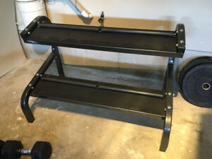 Northern lights dumbbell rack