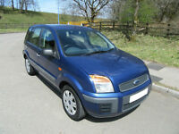 2007 '07' FORD FUSION 1.4 STYLE CLIMATE 5 DOOR HATCH IN LOVELY MET BLUE