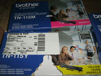 Brother High Yield Color Toner Cartridge TN-115