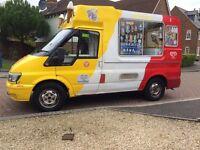 Ice cream van £9500 ono