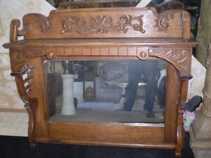 Ornate Mirror Top for Sideboard Strathcona County Edmonton Area image 3