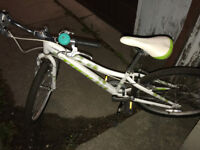 FOUND: GIRL'S BIKE, WHITE
