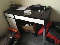 IKEA Black-Brown Desk