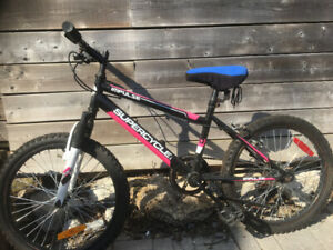 Youth boys and girls bikes bought last year