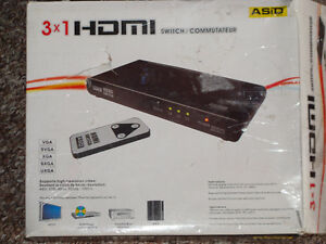 Asid hdmi 3 in 1 switch