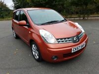 Nissan Note 1.6 petrol tekna automatic leather seat MOT in good running order
