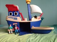 LITTLE TIKES toy pirate ship