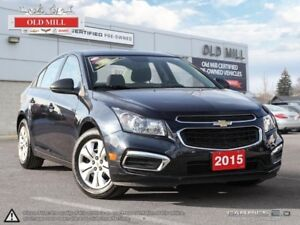 2015 Chevrolet Cruze 1 Owner, Accident Free, Bluetooth